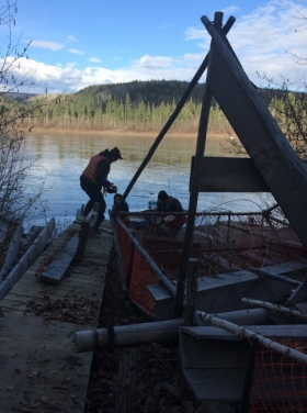Arctic Domus team members receive NERC funding for fish wheel project
