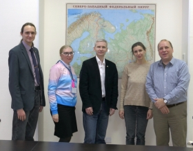 Arctic Domus team members participated in networking event at Northern Arctic Federal University